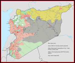 Isis Syria Map by Syria Map 21st Century Wire