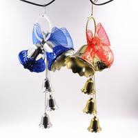 Large Christmas Hanging Decorations by Wholesale Large Christmas Bell Decorations Buy Cheap Large