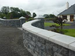 wall and pier cappings o u0027 hora pre cast concrete mayo sligo