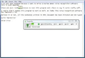 dragon naturally speaking help desk figure 1 a screen shot of dragon naturallyspeaking scientific
