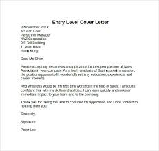 Thank You For Taking The Time To Review My Resume Entry Level Cover Letter Foxy Sample Cover Letter Examples Entry