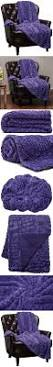 Faux Fur Blankets And Throws Best 20 Purple Throw Blanket Ideas On Pinterest Purple Throws