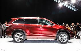 2014 toyota highlander ground clearance by the numbers 2014 toyota highlander exterior specs against