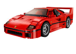 80s ferrari lego ferrari f40 announced iconic 1987 supercar u0027s blockbuster toy