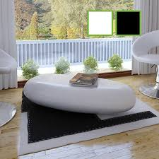 White Gloss Side Table White Gloss Coffee Table Zeppy Io