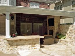 Covered Outdoor Grill Area by Outdoor Kitchen And Patio Ideas Gallery With Grill Images