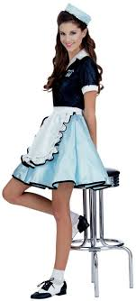 girl costumes 50 s car hop girl costume mc ru15917 from costume shop vintage