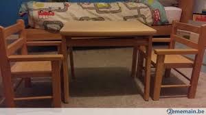 bureau combelle table pupitre et chaises enfant marque combelle a vendre