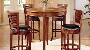 pub table and chairs for sale buy 3 pc antoinette pub table set in cherry mahogany finish for