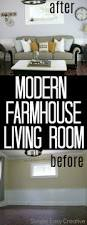 modern farmhouse living room makeover hoosier homemade