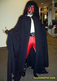 Darth Maul Halloween Costume Darth Maul Costume Fail