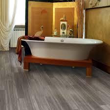 bathroom with vinyl floor that looks like wood linoleum houses