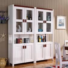 Wood Wine Cabinet Mediterranean Restaurant Furniture Wood Wine Cabinet Wine Cooler