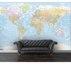 map mural buy 1wall map of the wall mural at argos co uk your