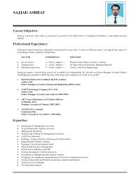 resume how to write objective for sample warehouse an in a
