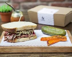Homemade pastrami sandwich Picture of Gaucho Grill Mexico City