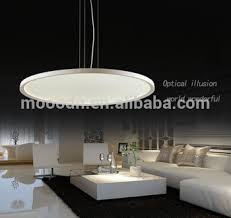 ceiling light flat round modern hanging white flying saucer ultrathin round flat panel led