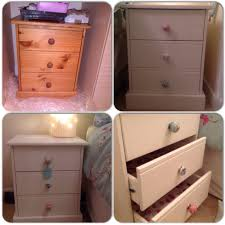 annie sloan old white chalk paint new drawer knobs and drawer