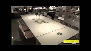 Extendable Glass Dining Table Extendable Glass Dining Tables From Beyond Furniture Sydney Youtube
