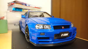 nissan skyline 2015 blue nissan skyline gt r r34 z tune model by toto1029 on deviantart