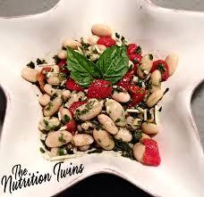 white bean pesto salad nutrition twins