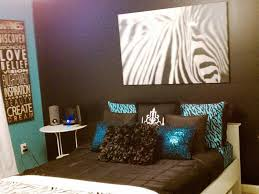Zebra Designs For Bedroom Walls The Chic Zebra Room Ideas Three Dimensions Lab