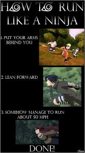 Ninja Memes - how to run like a ninja weknowmemes