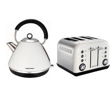 Morphy Richards Toaster Cream Morphy Richards Accents 4 Slice White Toaster 242005