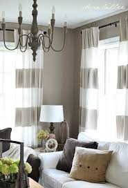 Grey And White Striped Curtains Alluring Gray And White Striped Curtains And Best 25 Horizontal
