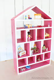 Free Wooden Doll Furniture Plans by Build A Dollhouse Wall Shelf Free And Easy Diy Project And