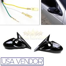 for 97 01 honda prelude k6 racing style power side mirrors
