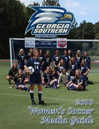 2010 georgia southern women u0027s soccer media guide by georgia