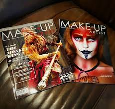 magazines for makeup artists a featured make up for make up artist magazine cover agne skaringa