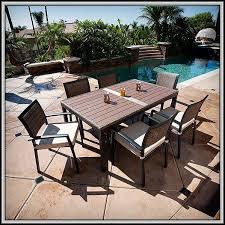 Mainstays Crossman 7 Piece Patio Dining Set Green Seats 6 Walmart Dining Patio Furniture Modrox Com