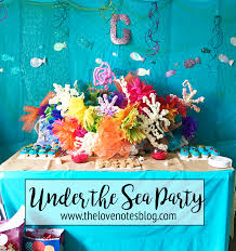 the sea party the sea birthday party the notes