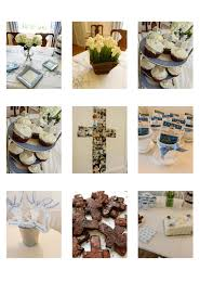 Decoration For First Communion The Lily Pad My First Communion Decorations And Ideas