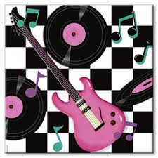Rock And Roll Party Decorations Party Supplies Where Birthdays Are Treasured Rock N Roll