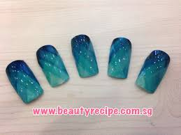 nail art design picture tutorial use 4 related colors written