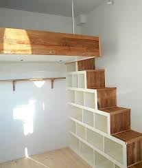 Designs For Building A Loft Bed by Best 25 Bed Shelves Ideas On Pinterest Dorm Room Shelves Comfy