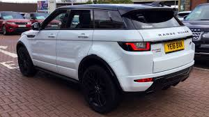 land rover range rover evoque black used land rover range rover evoque 2 0 si4 hse dynamic lux 5dr