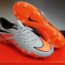Sepatu Bola Grade Ori sepatu bola nike hypervenom ii silver terbaru dan termurah jual