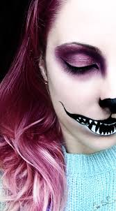 Halloween Makeup For A Cat We U0027re All Mad Here Chessire Cat Halloween Makeup By Chuchy5 On