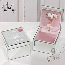 personalized baby jewelry box bohemian home bedroom design interior rectangle metallic