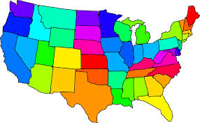 United States 50 States Map by Printable Usa States Capitals Map Names States Pinterest Cap Us