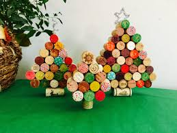 wine cork christmas tree christmas tree decoration cork