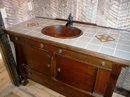 Rustic Bathroom Ideas Pictures Rustic Vanities And Sinks For Bathroom Kitchen U0026 Bath Ideas