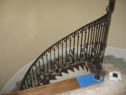 Fitting Banister Spindles Living Room Clearview Stair Railing Kit Uk Bamboo Staircase