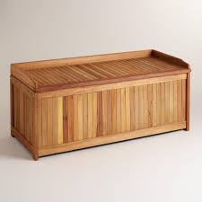 Outdoor Storage Box Bench Wooden Garden Storage Box Plans