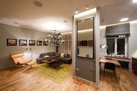 Design Apartment Layout Elegant Studio Apartments Layouts With Black Sofa And Black Yellow