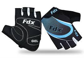 bike gloves fdx cycling gloves half finger gel foam padded bike fingerless